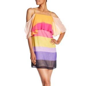 NWT Trina Turk Silk Butterfly Dress